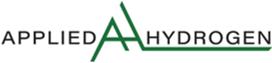 Logo Applied Hydrogen AS
